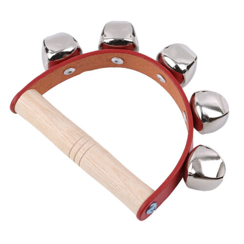 Hand Bells Jingle Instrument Musical Kids Children Shaker Percussion Shake Toy