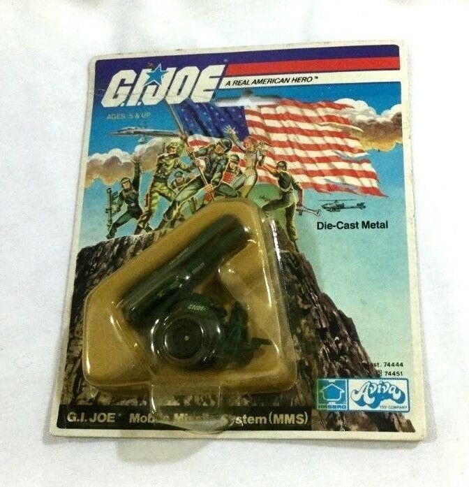 1983 Hasbro GI Joe ARAH Diecast MMS Mobile Missile System MOC Carded Sealed RARE