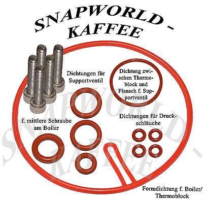 Seal For Saeco Royal Incanto Stratos Magic Thermoblock Supportventil Hose