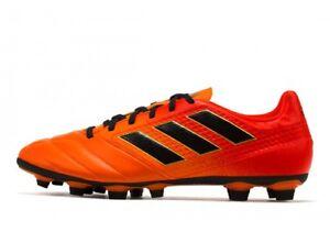 94a76167fe03 Adidas Men s ACE 17.4 FxG Soccer Orange Black S77094 Sz 8 - 13