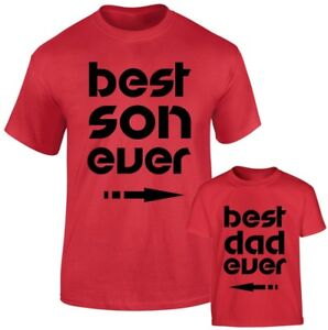 c9012139a Best Dad and Best Son Ever Father Daddy Son Family Matching T shirts ...