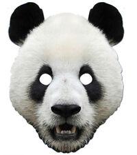 Panda Tiere einzeln Karton 2D Party Gesichtsmaske zoo safari dschungel two-o