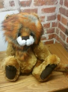 "2 Of 50 Able Kaycee Bears 'marvin' The Lion 18"" Tall With Bag Diversified In Packaging"