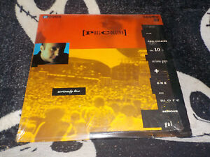 Phil-Collins-Seriously-Live-Laserdisc-Ld-Fabbrica-Shrink-Berlino-039-90