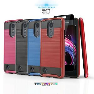 differently c524f 2b125 Details about for LG ARISTO 2 / ARISTO 2 PLUS, [Protech Series] Phone Case  Shockproof Cover