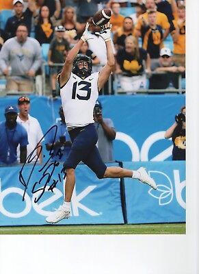 David Sills V West Virginia Mountaineers Signed 8x10 Photo W/coa #3 Long Performance Life Autographs-original Football