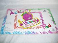 Barney Lyons Group Arts & Crafts Activity Pad 17 X 11 - 40 Sheets - Sealed