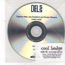 (DV12) Dels, Capsize ft Joe Goddard & Roots Manuva - 2011 DJ CD