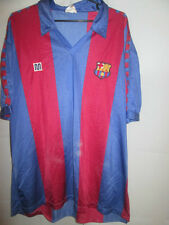 Barcelona 1984-1989 Home Meyba Football Shirt Size Large /34080