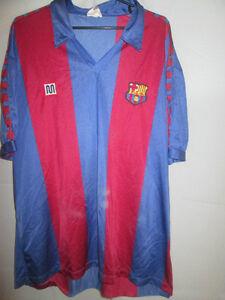 006b769ce71 Image is loading Barcelona-1984-1989-Home-Meyba-Football-Shirt-Size-