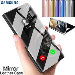 da31d62ebbd Luxury Touch Mirror Smart Flip Stand Case Cover for Samsung Galaxy ...