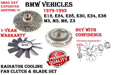 Radiator Cooling Fan Clutch for BMW 318i 325i 525i 528i 535i 735i M5 M6 Z3