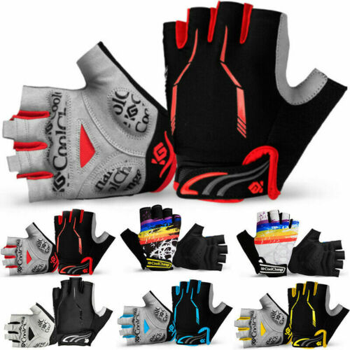 Outdoor Cycling Bicycle MTB Bike Gloves Sports Racing Riding Half Finger Gloves