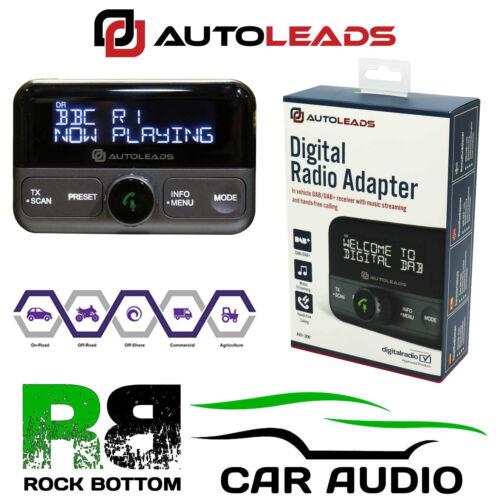 Para encajar Suzuki Plug N Play de transmisión de radio DAB /& Kit de coche manos libres Bluetooth