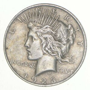 VG-XF 1925 Peace Silver Dollar 90/% United States Coin Eagle Reverse