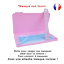 miniature 1 - Boite-de-rangement-rose-et-attache-rose-pour-masque