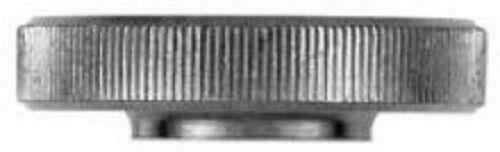 M5 moleté POUCE noix Mince Type Acier Inoxydable A1 Grip knob DIN 467