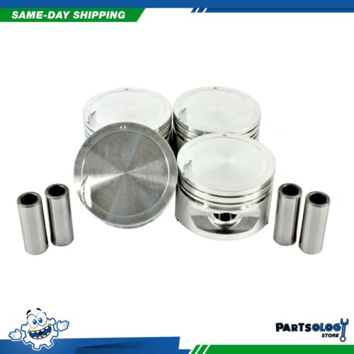DNJ P134 Standard Complete Piston Set For 00-02 Hyundai Accent 1.5L L4 SOHC 12v