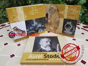 Coffret-BU-Euro-8-Pieces-Medaille-Slovaquie-2019-Aurel-Stodola