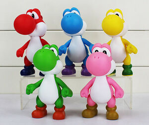 Super-Mario-Brothers-Bros-5-034-Action-Figure-Yoshi-Collectible-Kids-Toy-USA-SELLER