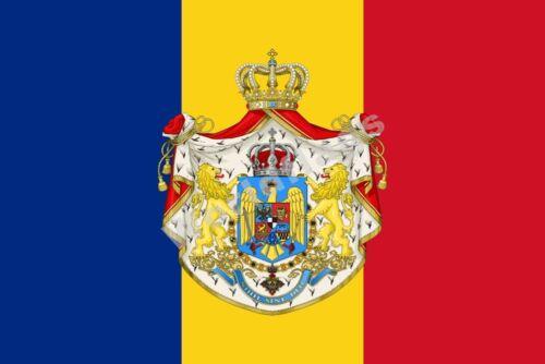 Romanian Army FLAG 1921 3X2FT 5X3FT 6X4FT 8X5FT 100D Polyester Bannière