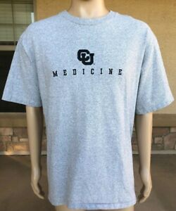 Details about Vintage Colorado CU Medicine T Shirt The Cotton Exchange USA  Made Size XL