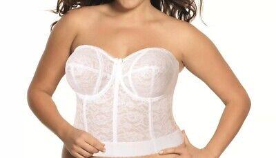 Goddess Womens Lace Bustier Bra #GD0689