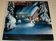 GEORGE MELACHRINO ORCHESTRA CHRISTMAS JOY ALBUM 1959 RCA VICTOR RECORDS LPM-2044