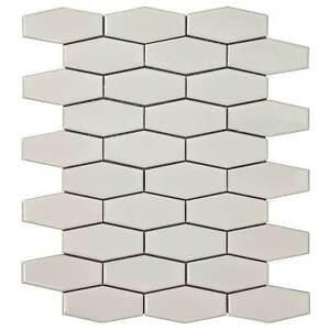Classic-Hexagon-Beige-Porcelain-Mosaic-Tile-Backsplash-Kitchen-Wall-MTO0248