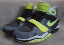 item 4 Nike Air Bo Jackson Retro Cross Trainer mens sz 9.5 black grey volt  preowned -Nike Air Bo Jackson Retro Cross Trainer mens sz 9.5  black grey volt ... 431610d8b