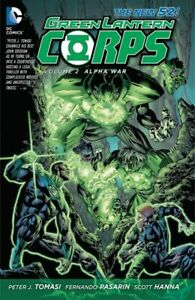 DC-New-52-Novel-Green-Lantern-Corps-Vol-2-Alpha-War-Hard-Cover-Comics-S1