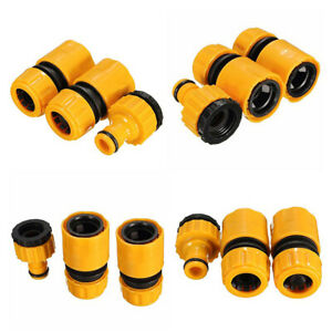 3pcs Set Garden Car Water Hose Pipe Tap Adapter Connector/&Fitting Hosepipe