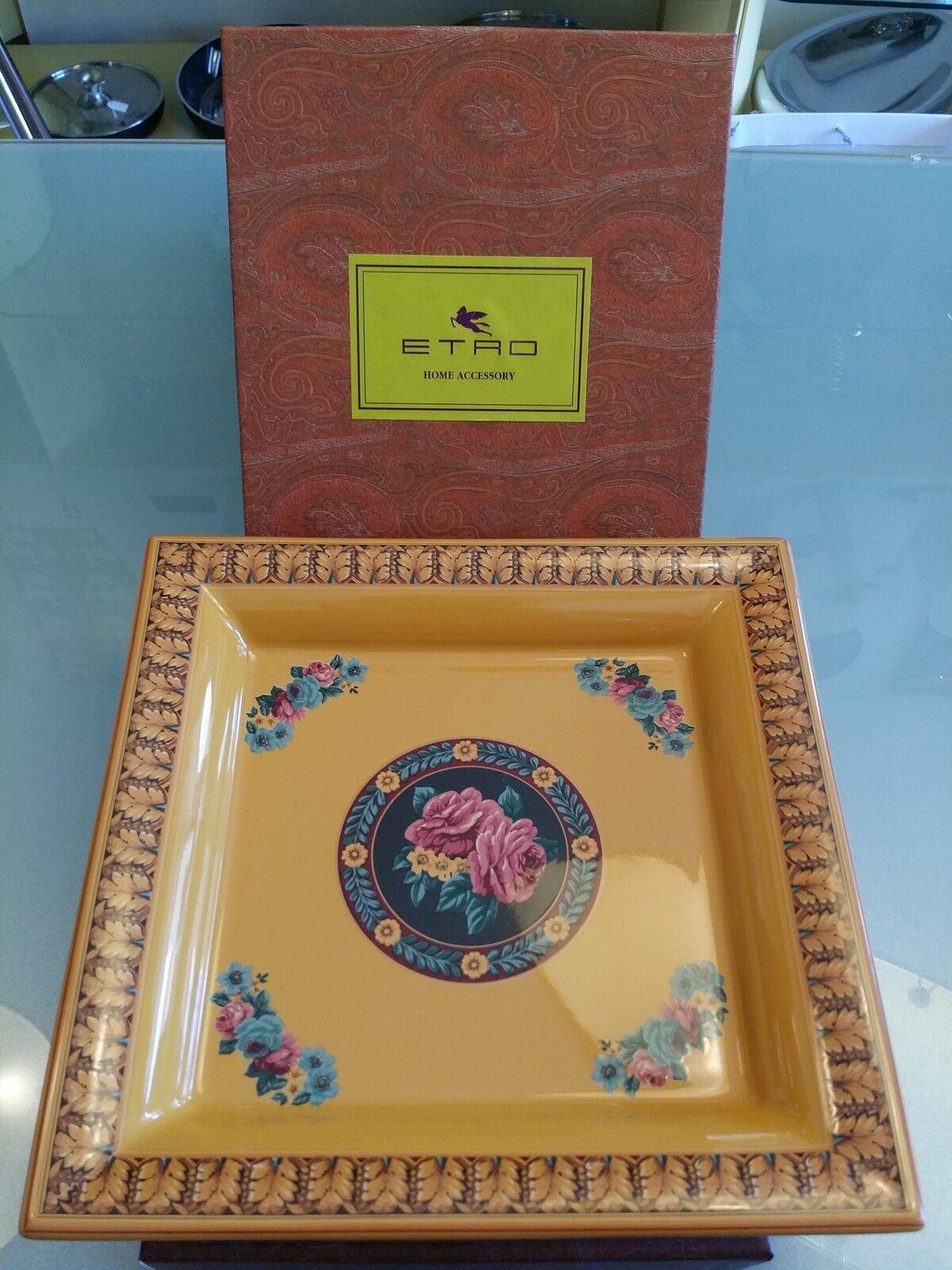 Etro Porcelaine - Vides Poches - Céramique - Accueil Accessory - Poches Plateau 762882