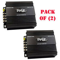 Pack Of 2) Pyle Pswnv480 24-12v Dc Power Step Down Converter 480w Pmw Technology on sale