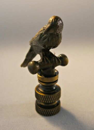 Lamp Finial-PARROT-Aged Brass Finish Highly detailed metal casting