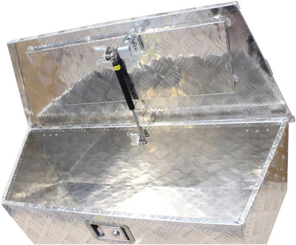 Trailer ALU værktøjskasse til trailer med skrå kant -...,