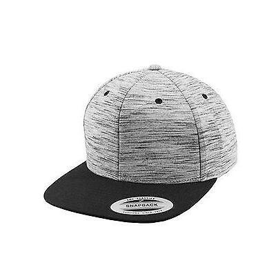 Stripes Melange Crown Snapback Cap / Kappe | FLEXFIT