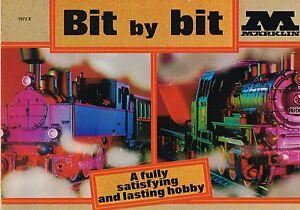 Scarce-MARKLIN-1972-E-HO-Toy-Trains-GIFT-SET-Catalog-from-F-A-O-SCHWARZ