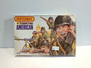 MATCHBOX-1-32-SCALE-15-AMERICAN-COMBAT-TROOPS-1976-VINTAGE-SET-NIOB