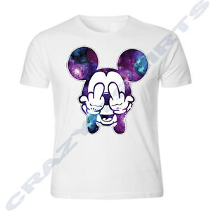 Galaxy Mickey Mouse Dope Weed Shirt Space Disobey Hipster ...