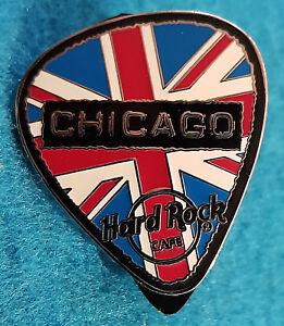 Chicago-Glam-Rock-Serie-Bandiera-Britannica-Chitarra-Scegliere-Rigida-Cafe-Perno