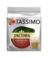 Tassimo Jacobs Cafe Au Lait café 3 Pack, 48 T-Discs/bebidas