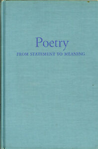 Vintage-book-Poetry-from-From-Statement-to-Meaning-Beaty-amp-Matchett-1965