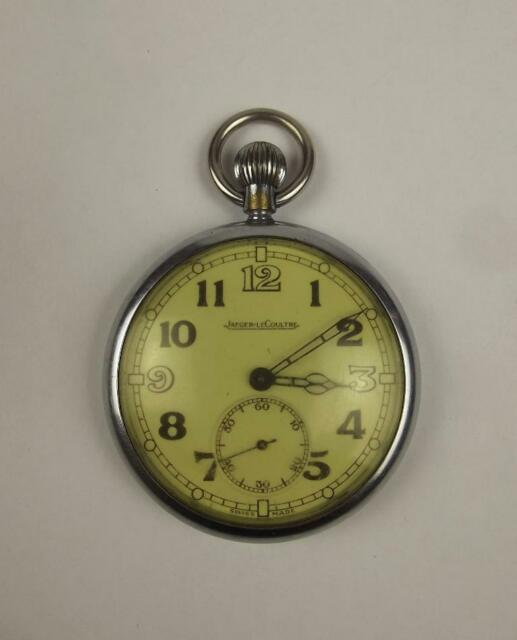 Jaeger LeCoultre Military Pocket Watch