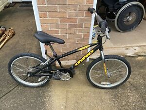 "Vintage Original 1990s 20"" Dyno GT Blaze Black BMX Bike Racing Bicycle"
