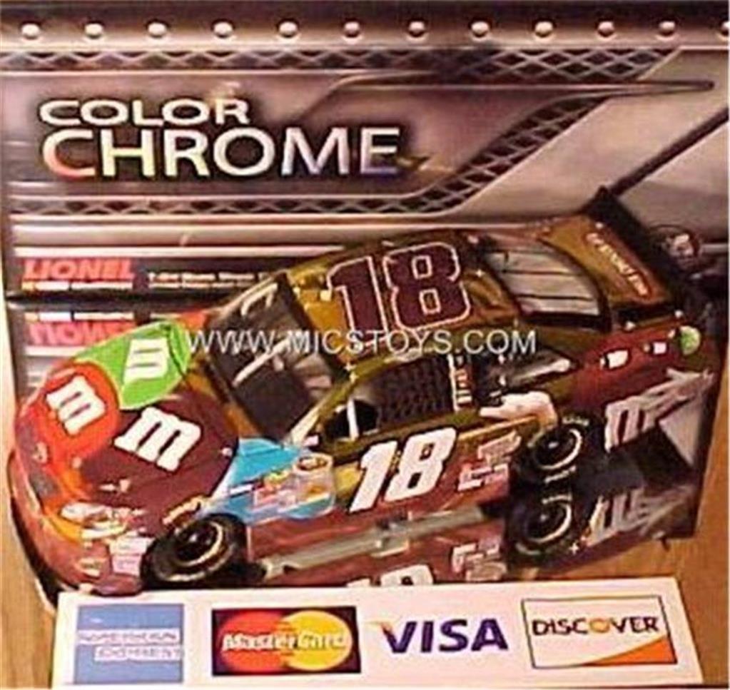 NEW RARE Gen5 2012 Kyle Busch color Chrome Ms Brown MMs Platinum 1 24 Action