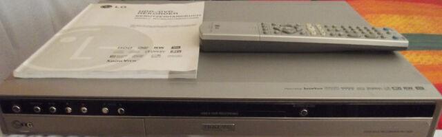 LG RH7500 Festplatten HDD DVD Recorder