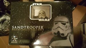 Star-Wars-Gentle-Giant-2006-Sand-Trooper-Sergeant-034-RARE-Promo-034-Mini-Bust-NEW