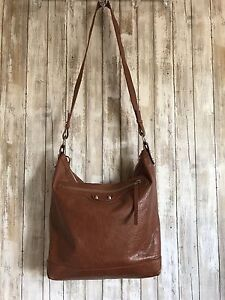 Details About Balenciaga Arena Men S Brown Leather Day Messenger Crossbody Weekender Bag Rare