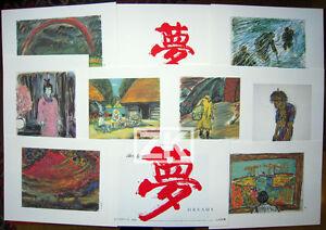 DREAMS-Reves-KUROSAWA-8-Storyboards-Dessins-Drawings-Spielberg-Film-Cannes-1990